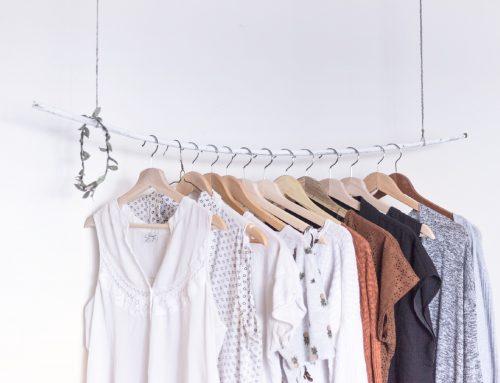 Antes y después armario ropa